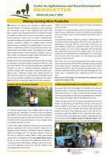 CARD Newsletter, Issue 10, 2014